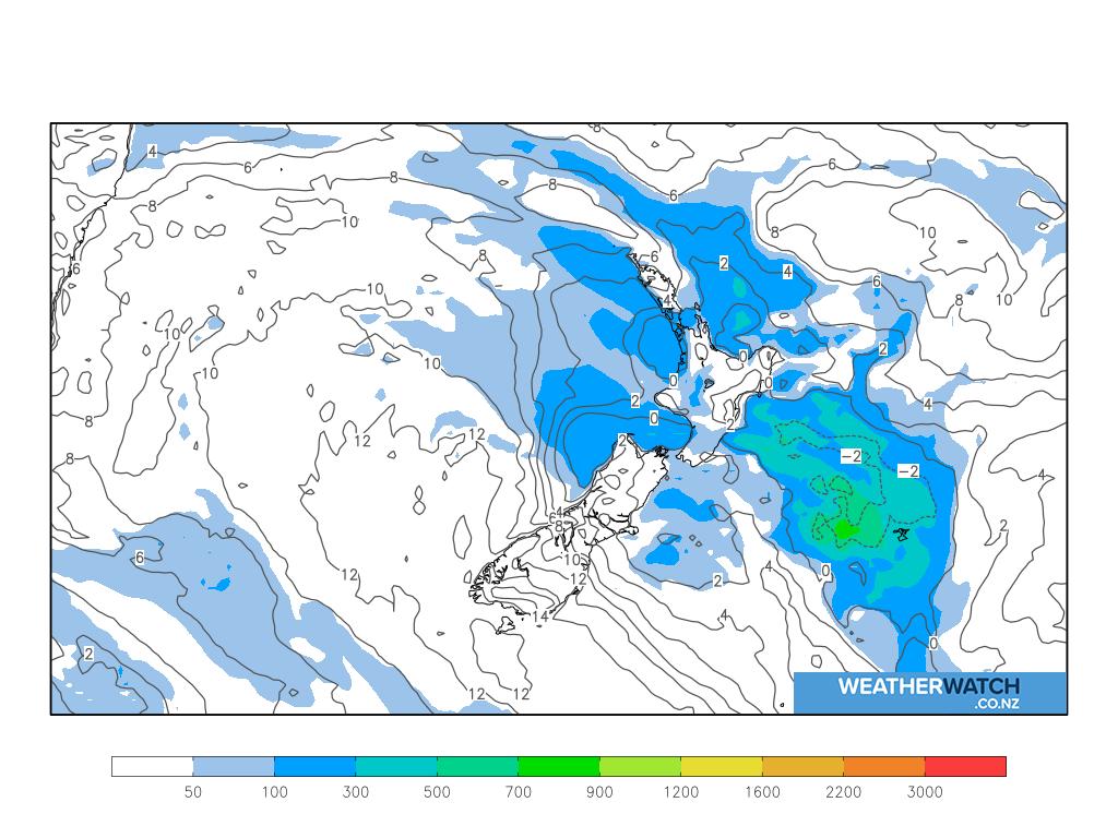 Thunderstorm risk for 6:00am on Sat 17 April 2021