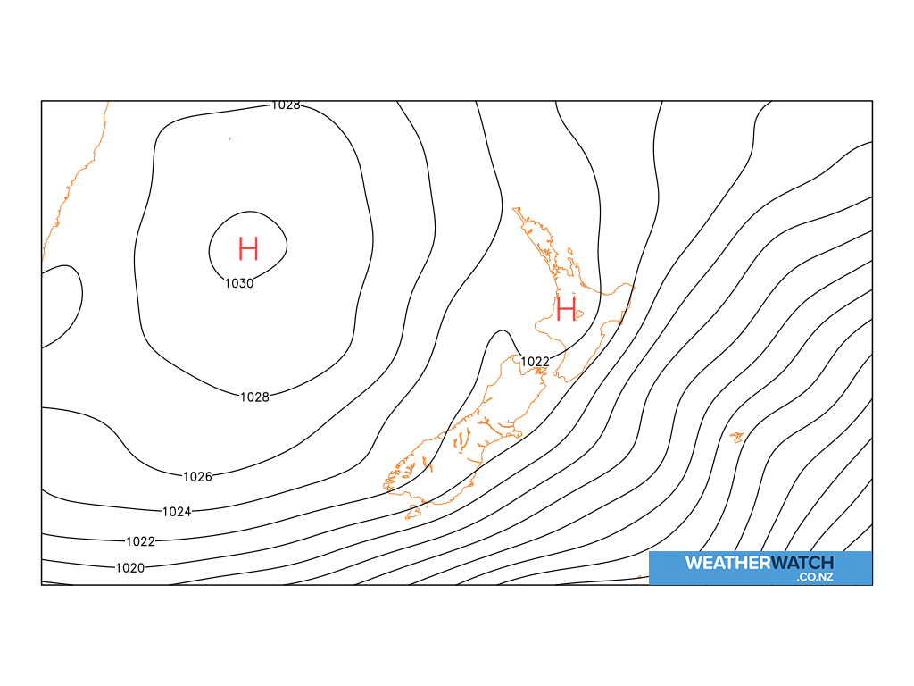 Mean sea level pressure for 6:00am on Fri 10 July 2020