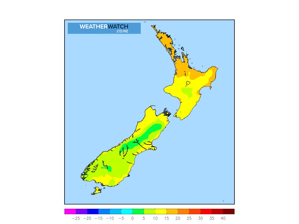 Maximum temperature for 12:00pm on Sat 17 April 2021