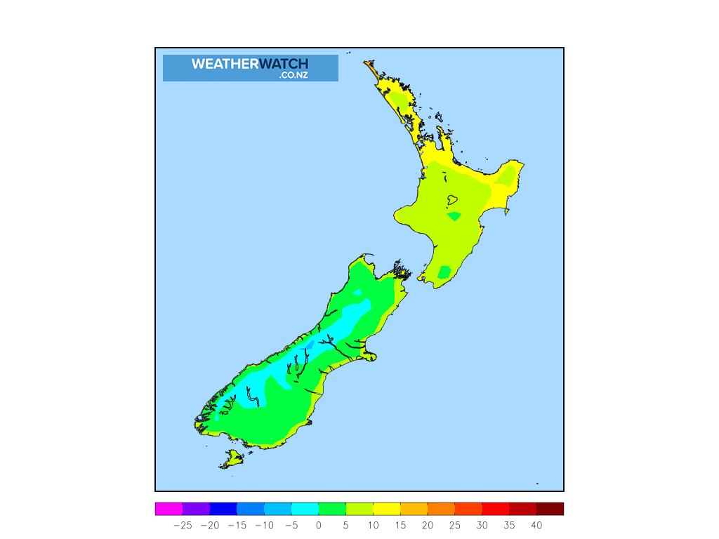 Minimum temperature for 1:00am on Thu 22 October 2020